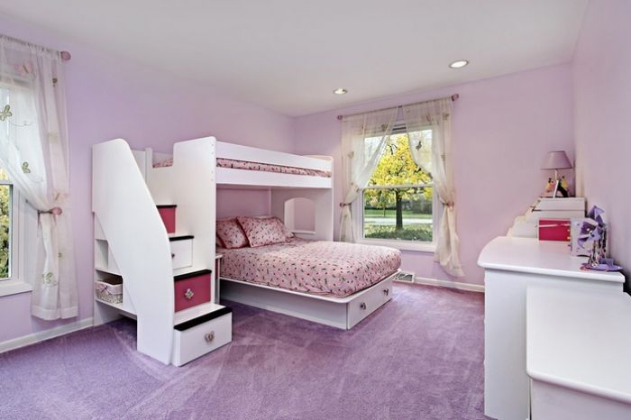 Habitaciones infantiles literas originales y de dise o for Habitaciones de nina baratas