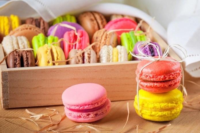Deliciosos y coloridos Macarons
