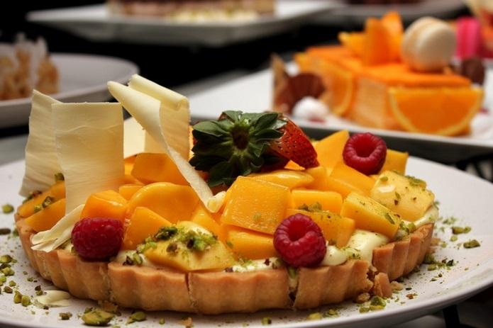 Receta de Tarta de mango para san Valentín