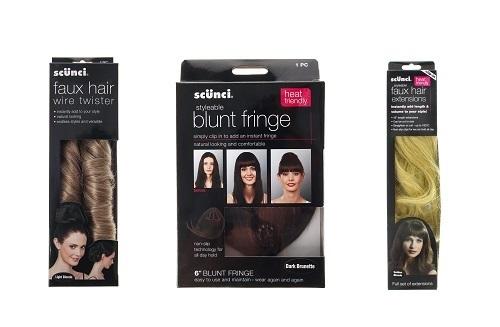 Kits de peinado con cabello postizo de Claire's