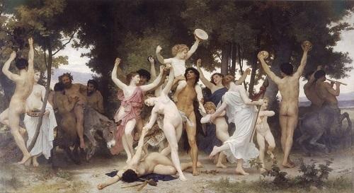 La Juventud de Baco, de Bouguereau