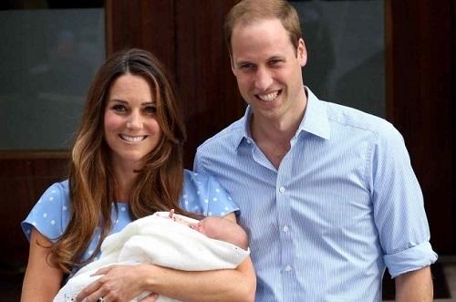 George Alexander Louis es el primer hijo del Príncipe Guillermo y Kate Middleton