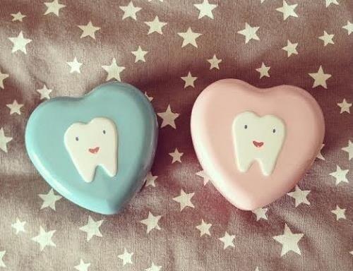 Cajitas para guardar los dientes de Oui Oui