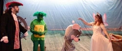 Las aventuras del ratoncito Pérez en el Teatro Prosperidad
