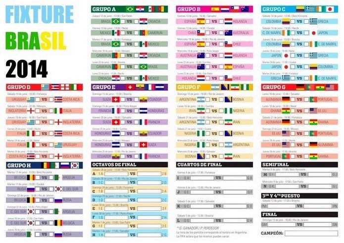 El Mundial de fútbol en familia