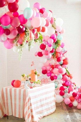 Fiesta de Baby Shower en tonos rosas
