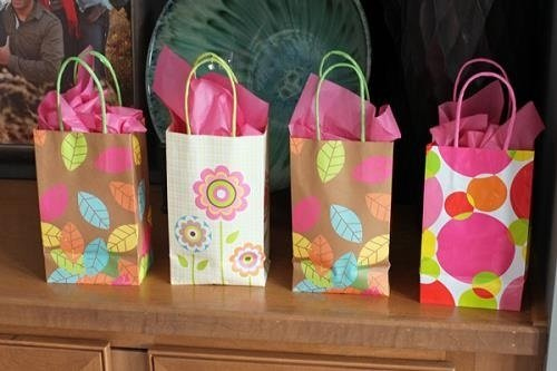 Bolsas de regalo para Baby Shower