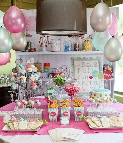 Kit de decoración de Baby Shower