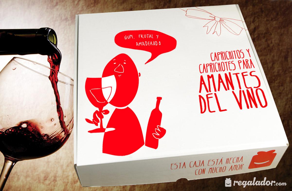 Caja para amantes del vino
