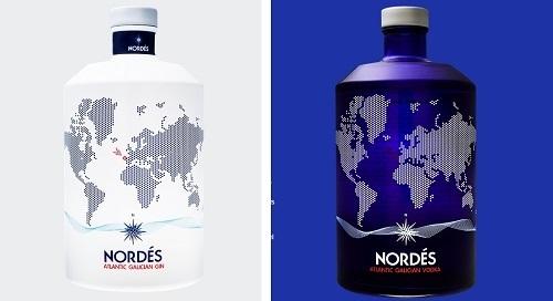 Ginebra y Vodka Nordés, de Osborne