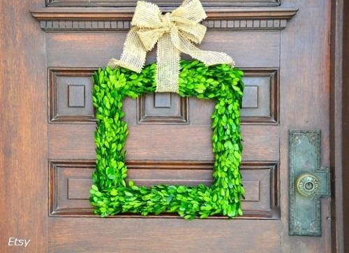 Coronas de Navidad para tu puerta