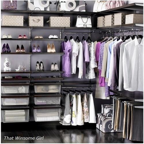 Guardando la ropa