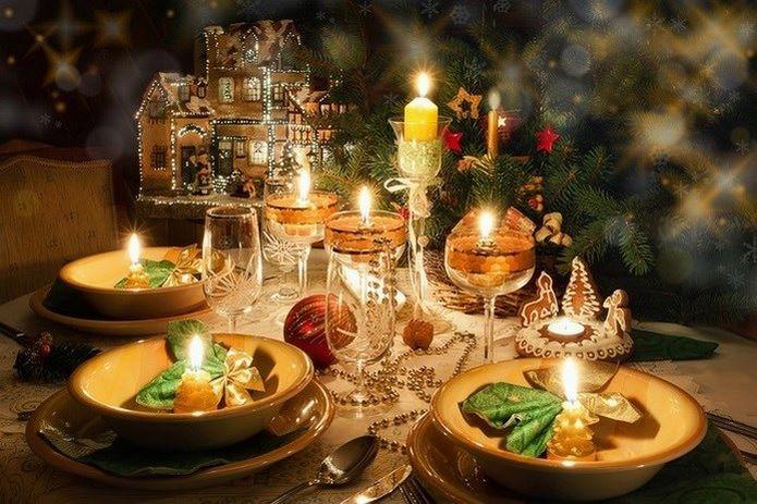 Las mesas más navideñas