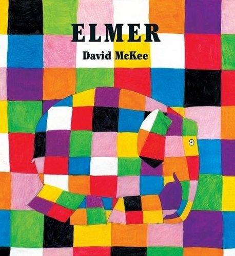 Libro infantil Elmer, de David McKee