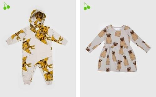 Nueva coleccion de moda infantil de Mini Rodini
