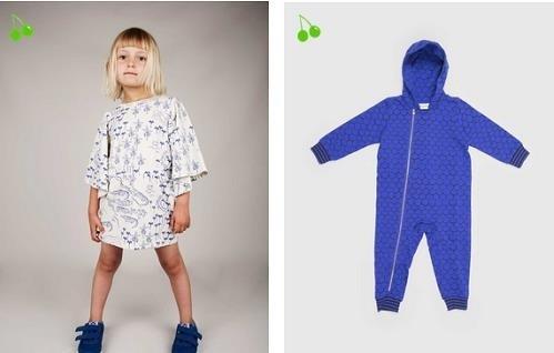 Colección de moda primavera-verano de Mini Rodini