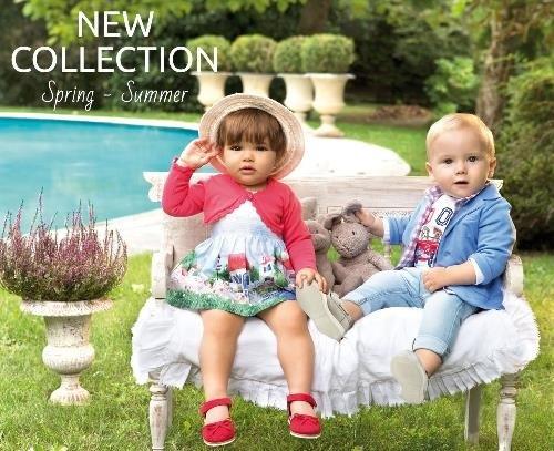 Ropa infantil de la nueva colección de Mayoral