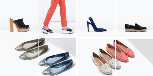 Calzado de primavera de Zara Online