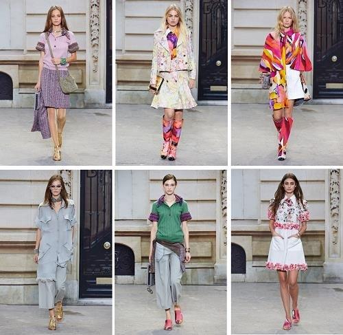 Nueva coleción de moda Chanel