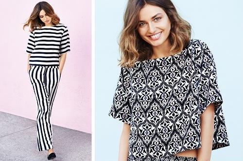 Estampados en blanco y negro de H&M