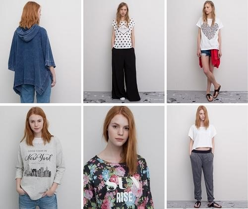 Modelos de la coleción de Primavera de Pull&Bear