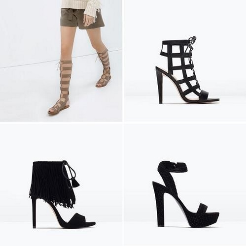 Complementos de la nueva temporada Primavera-Verano de Zara Online