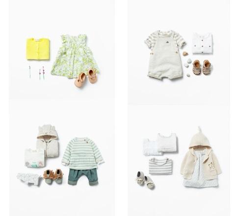 Colección Mini Zara Kids primavera verano