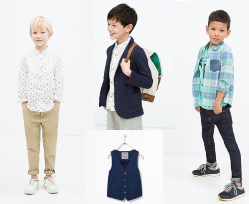 moda infantil zara