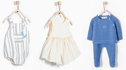Zara Kids bebés primavera verano