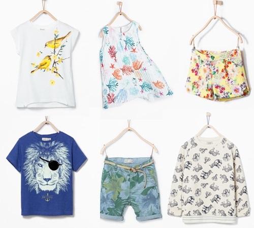 Zara niños primavera verano. Naturaleza