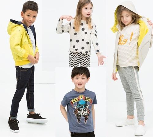 Colección niños Zara Kids primavera verano. Street Style