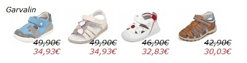 Mini precios calzado infantil