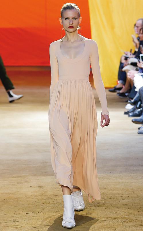 Vestido largo de Céline