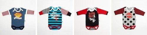 Bodys para bebés de la tienda online Rocky Horror Baby