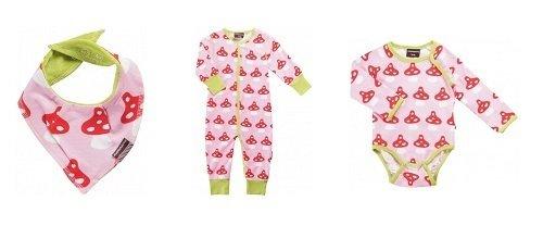 Conjunto para bebés de la tienda online de Köttbullar & Mjölk,