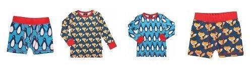 Camisetas y calzoncillos para niños de la tienda online de Köttbullar & Mjölk