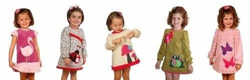 Vestidos artesanales de la tienda online de Flamenka Baby
