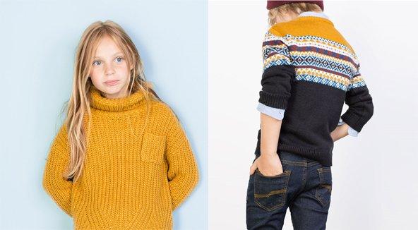 Colección Zara Kids otoño invierno 2015/16