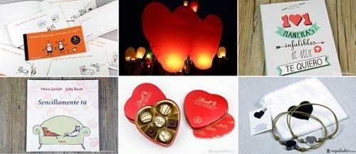 Kit de regalos para San Valentín de Regalador