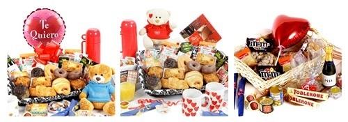 Cestas románticas para desayuno de Regalo Origina