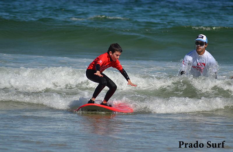 Campamento de verano en Surf Prado Nigrán-Galicia
