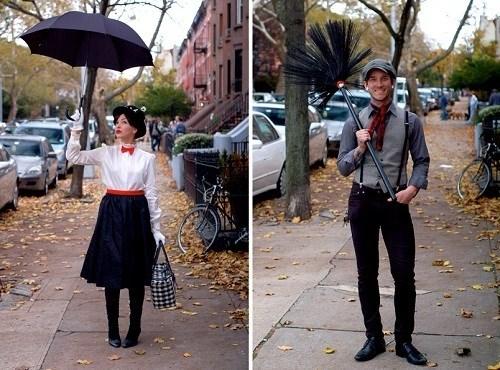 Disfraz para parejas:Mary Poppins