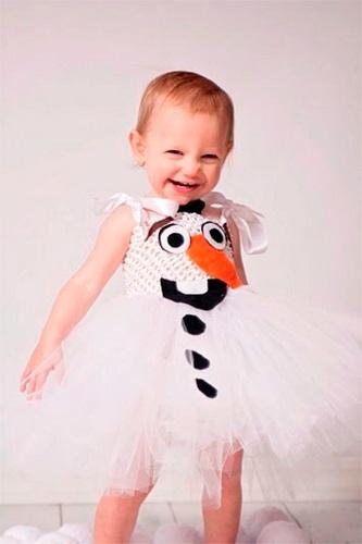 Tutorial de disfraz de muñeco de nieve en Etsy