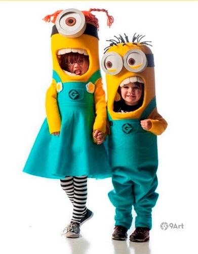Tutorial para disfraz de Minions de Craftatholic Anonimous