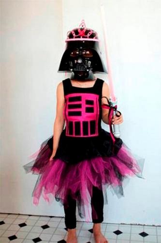 Tutorial para disfraz de Darth Vader princesa de O'mimi