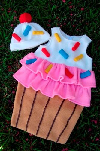 Tutorial de disfraz de cupcake en Etsy