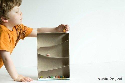Juguetes hechos con imaginación