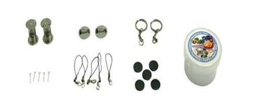 Accesorios de Jumping Clay para pendientes, llaveros, imanes y otros complementos