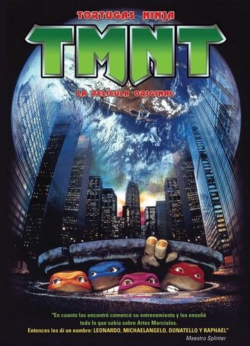 Cartel de Las tortugas Ninja