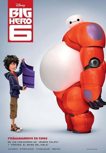 Película de Big Hero 6, de Disney